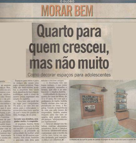O GLOBO – 03/04/2005