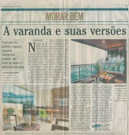 O GLOBO – 17/01/2010