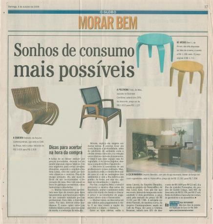 O GLOBO – 04/10/2009