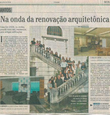 O GLOBO – 26/07/2009