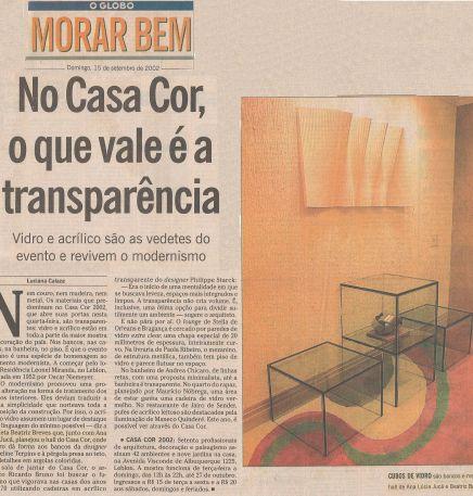 O GLOBO – 15/09/2002