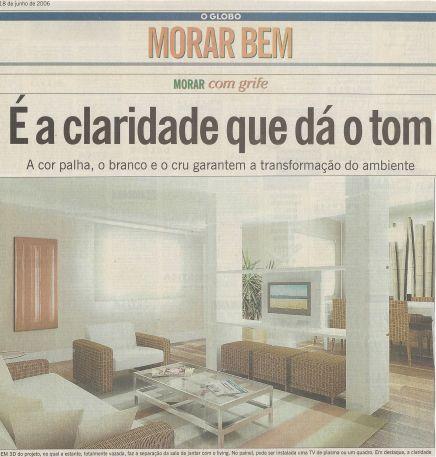 O GLOBO – 18/06/2006