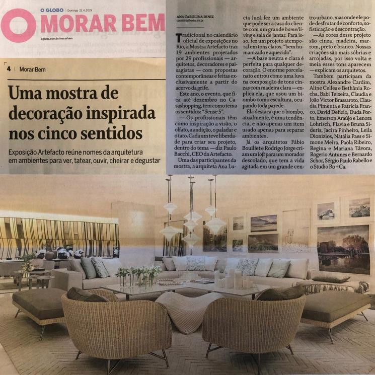 Ana Lúcia Jucá(Português do Brasil) O GLOBO – ABRIL/2019